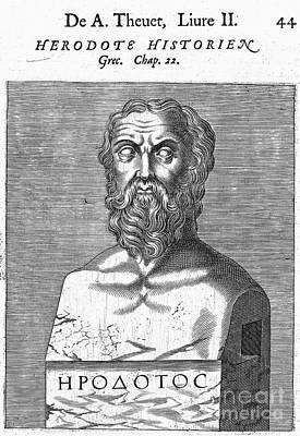 Herodotus Art Print by Granger