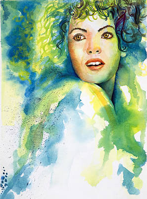 Painting - Herself by Tony Macelli