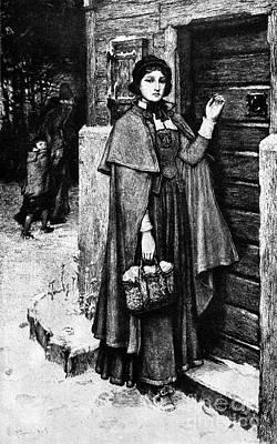 Hester Prynne, 1850 Art Print by Granger