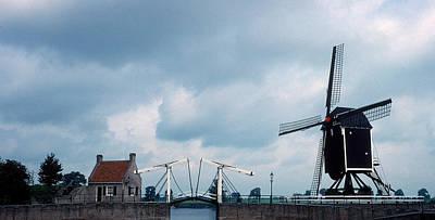 Photograph - Heusden Windmill by Cornelis Verwaal