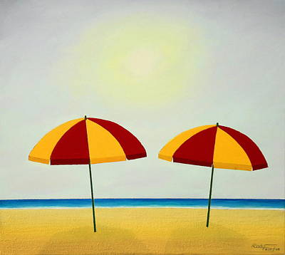 Sunshade Painting - Hey Man .... Cool Pair Of Shades by Rick Fairfax