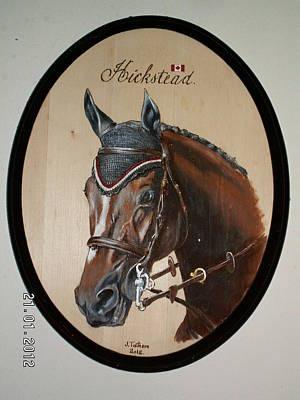 Hickstead Tribute To A Fallen Warrior Original by John Tatham