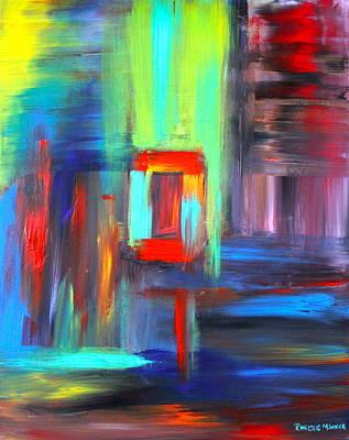 Art Print featuring the painting Hidden Door by Christie Minalga