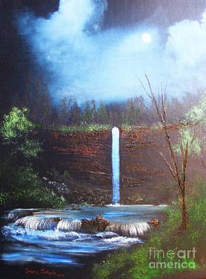 Painting - Hidden Falls by Crispin  Delgado