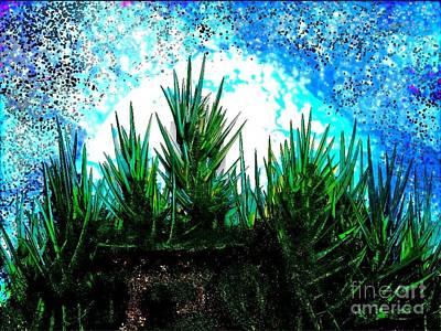 Light Digital Art - Hidden Home by Anita V Bauer