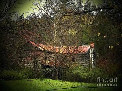 Hidden House In Spring Art Print by Joyce Kimble Smith