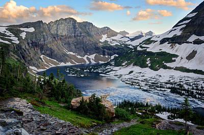 Photograph - Hidden Lake Vista by Bernard Chen