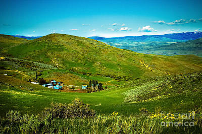 Photograph - Hidden Ranch by Robert Bales