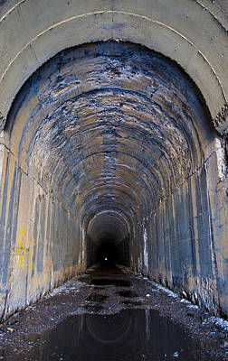 Daysray Photograph - Hidden Tunnel by Fran Riley