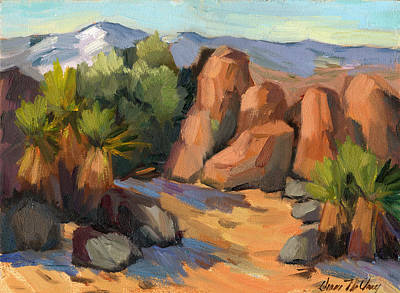 Painting - Hidden Valley At Joshua Tree by Diane McClary