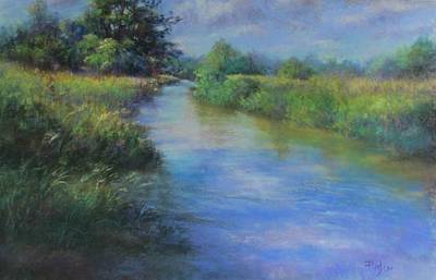 Pastel - Hidden Waters by Bill Puglisi