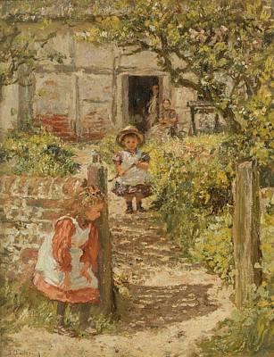 Brick Painting - Hide And Seek by James Charles