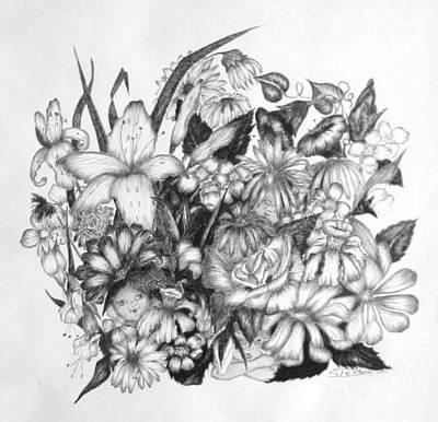 Hide And Seek Art Print by Sharon Denton