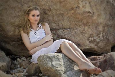 Hiding Photograph - Hiding In The Rocks by Rick Berk