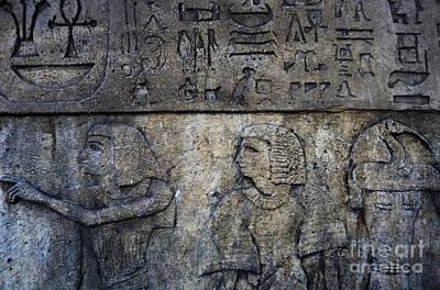 Photograph - Hieroglyphs by Lee Dos Santos