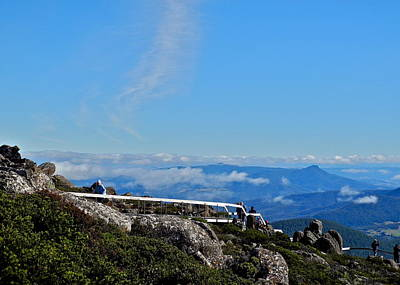 Photograph - High Above Hobart by Kirsten Giving