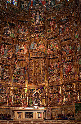 Photograph - High Altar Reredos by Lorraine Devon Wilke