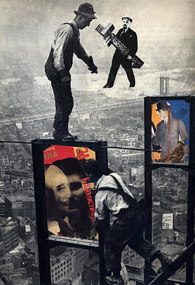 Lenin Digital Art - High Anxiety by Peter Stephen Wise