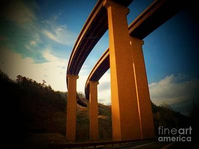 Capacon River Valley Photograph - High Bridge by Joyce Kimble Smith