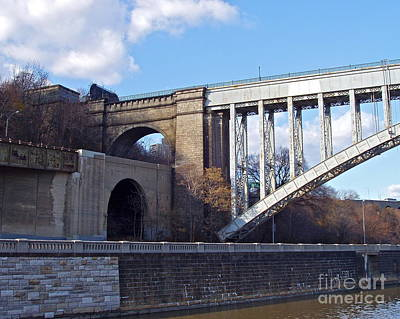 Photograph - High Bridge Ny by Carol  Bradley