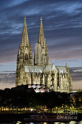High Cathedral Of Sts. Peter And Mary In Cologne Art Print by Heiko Koehrer-Wagner
