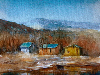 Painting - High Country Winter by Tina Bohlman