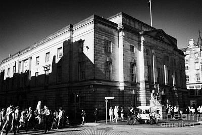 Royal Mile Photograph - High Court Of Justiciary Lawnmarket Royal Mile Old Town Edinburgh Scotland Uk United Kingdom by Joe Fox