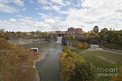 Art Print featuring the photograph High Falls by William Norton