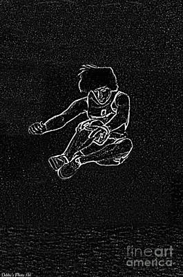 Digital Art - High Jump  by Debbie Portwood