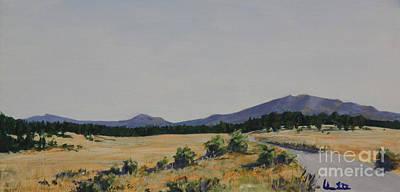 High Land Road Art Print