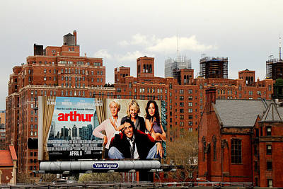 Jennifer Garner Photograph - High Line Park 1 by Andrew Fare