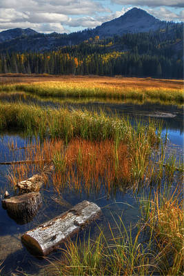 Photograph - High Mountain Lake by Utah Images