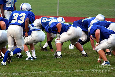 Photograph - High School Football 2a by Susan Stevenson