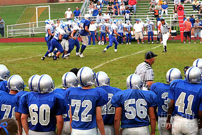 Photograph - High School Football 4 by Susan Stevenson