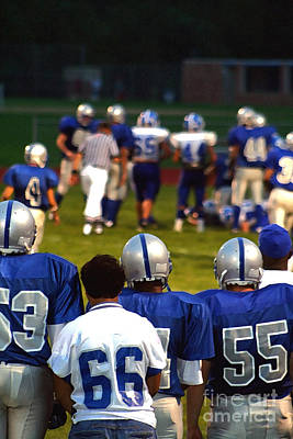 Photograph - High School Football 5 by Susan Stevenson