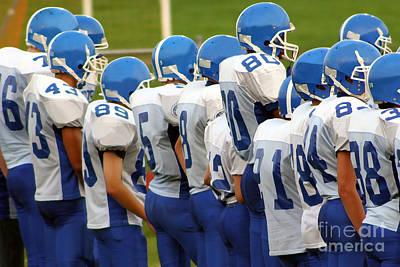 Photograph - High School Football by Susan Stevenson