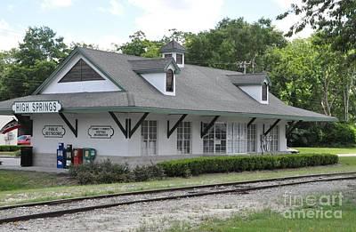 Photograph - High Springs Railroad Depot by John Black