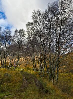 Etive Mor Photograph - Highland Highway by Gary Eason