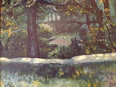 Highland Park 1 Art Print by Victor SOTO