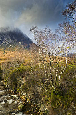 Stob Dearg Photograph - Highland View In Autumn  by Gary Eason