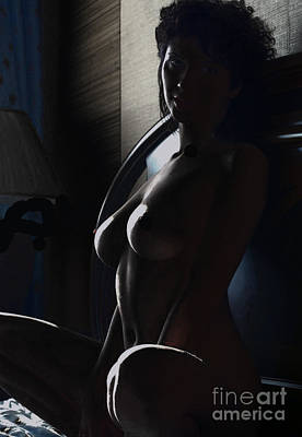 Highlights Of A Nude Art Print