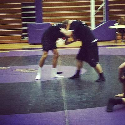 Wrestling Photograph - #highschool #wrestlingteam #wrestling by S Smithee