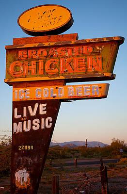 Arizona Artist Jeff Curtis Photograph - Highway Mirage by Jephyr Art