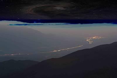 Galactic Alignment Photograph - Highway To A Galaxy by Carolina Liechtenstein