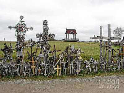 Photograph - Hill Of Crosses 01. Lithuania by Ausra Huntington nee Paulauskaite