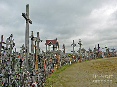Photograph - Hill Of Crosses 02. Lithuania by Ausra Huntington nee Paulauskaite