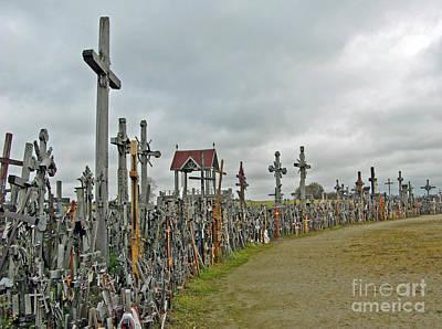 Photograph - Hill Of Crosses 02. Lithuania by Ausra Huntington nee Paulauskaite