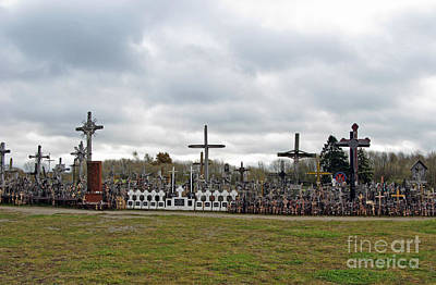 Photograph - Hill Of Crosses 05. Lithuania by Ausra Huntington nee Paulauskaite