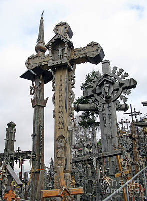 Photograph - Hill Of Crosses 09. Lithuania by Ausra Huntington nee Paulauskaite