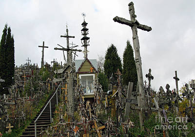 Photograph - Hill Of Crosses 10. Lithuania by Ausra Huntington nee Paulauskaite